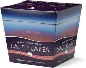 murray river salt flakes