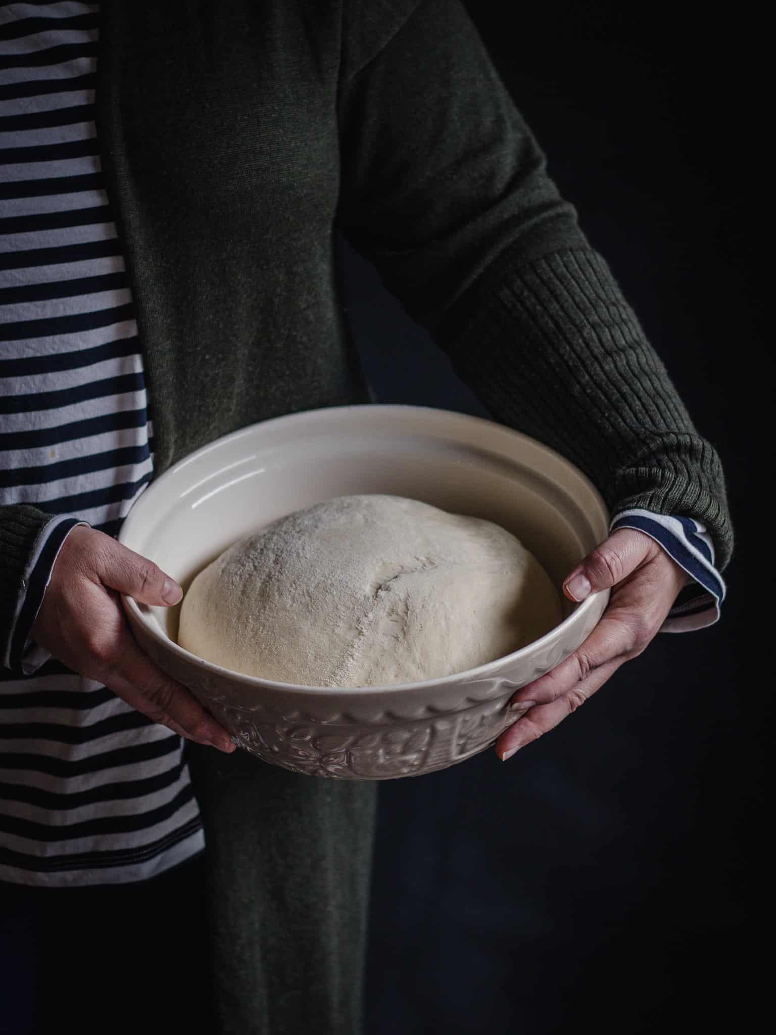pizza dough from scratch